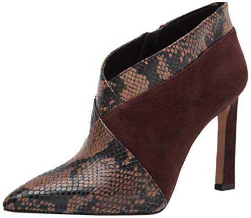 Vince Camuto Women's SEMPREN Pointed Ankle Boot, Mid Brown/Brown, 3 UK