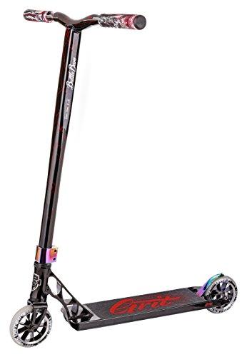 Grit Tremor Pro Stunt Scooter - Schwarz / Laser Rot