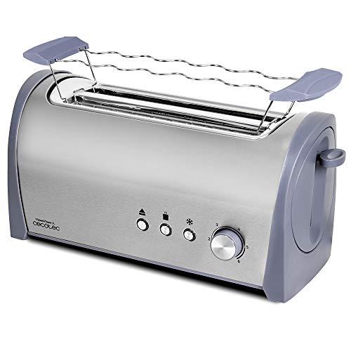 Cecotec Tostadora Acero Steel&Toast 2L. 6 Niveles de Pot