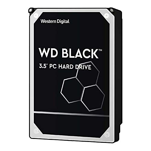 Western Digital Black 1 TB Performance Desktop Hard Disk Drive 7200 RPM SATA 6 GB/s 64MB Cache 3.5 Inch