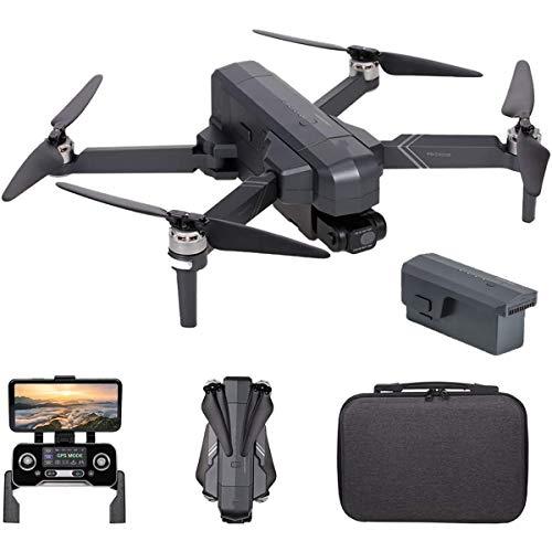 ZHBD Drone HD 4K con Fotocamera, Motore Brushless Gimbal A 2 Assi, Punto di Vista del Punto di Vista, 1500M Distanza di Controllo, 26 Minuti Tempo di Volo (con Sacchetto di Stoccaggio),One Battery