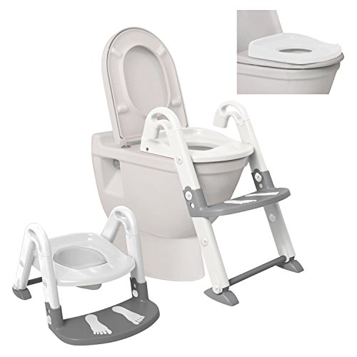 Dreambaby 3 In 1 Toilet Trainer, White and Grey by...