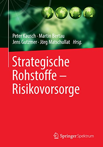Strategische Rohstoffe — Risikovorsorge