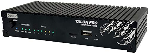 Why Choose Osprey Video Talon Pro 4K HEVC AVC H.265 H.264 SDI HDMI Video Encoder