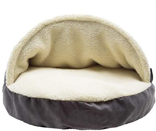 Huisdier nest Hond en Kat Bed, Deken Pet Bed, aanbiedingen hoofd, nek en Joint Support wasbaar in de machine, Water-Resistant Bottom, hok