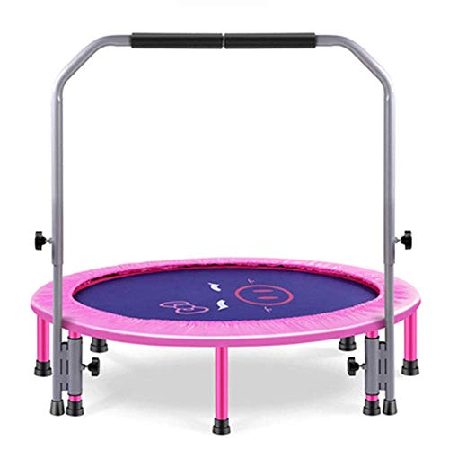 SCJ 48-Inch Folding Trampoline Mini Rebounder, children's indoor fitness folding sense training, suitable for Indoor and Outdoor use