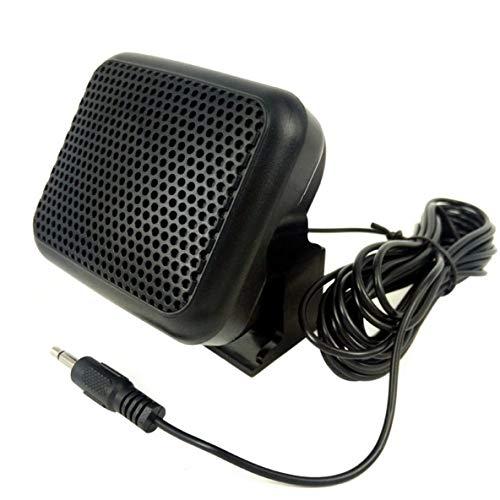 Rouku Mini Externer Lautsprecher NSP - Für Yaesu Für Kenwood Für ICOM Für Motorola Amateurfunk CB Hf Transceiver Externer Lautsprecher
