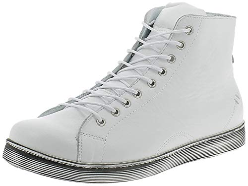 Andrea Conti Damen 0341500 Hohe Sneaker, Weiß, 36 EU