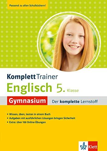 Klett KomplettTrainer Gymnasium Englisch 5. Klasse: Der komplette Lernstoff