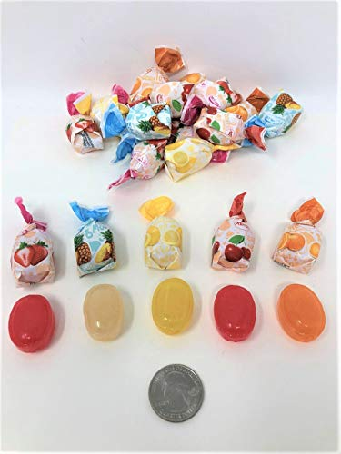 Arcor Fruit Filled Bon Bons Sachet Wrap Hard Candies 6 Lb Bag