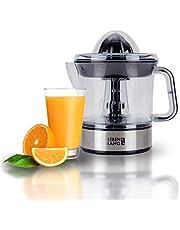 Levenslange citruspers, elektrisch, hoge sapopbrengst, sappers, sinaasappelpers, 2 draairichtingen, elektrische fruitpers, 2 kegels