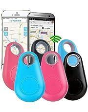 6 STKS Smart Pakket Tracker Key Finder Locator Alarm Anti Verloren Sensor Apparaat Voor Kids Portemonnee Auto Honden Dieren Katten Motorfietsen