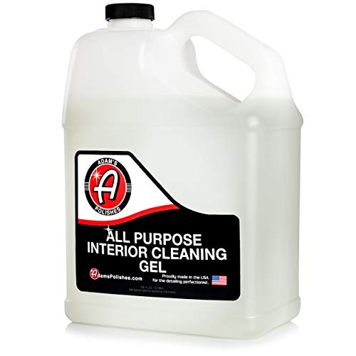 Adam's All Purpose Interior Cleaning Gel - Best for Detailing Leather Seats Vinyl Carpet Upholstery Plastic Rubber Interior Surfaces Floor Matts & Car Accessories Boat RV Motorcycle Parts (Gallon)