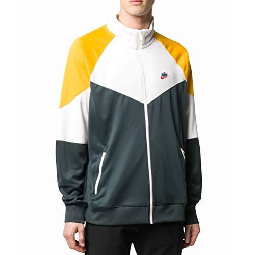 NIKE Sportswear Windrunner Jacket, Seaweed/Vela/Oro Universitario, S Mens