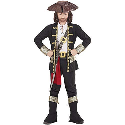 WIDMANN-Capitano Pirata Disfraz, multicolor, (116 cm / 4-5 anni) (15275)