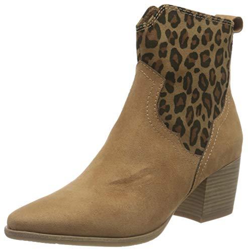 Marco Tozzi 2-2-25353-26 Damen Stiefelette Mode-Stiefel, DESERT COMB, 41 EU