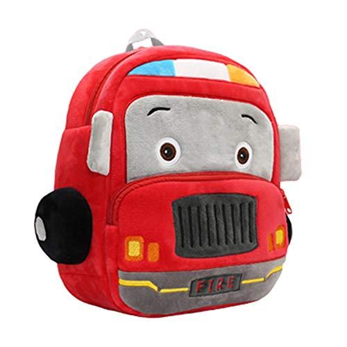 Mochila Guarderia Durable Mochilas Infantiles Mochilas Infantiles Personalizadas Blandas Mochilas Colegio para Pañales De Fácil Almacenamiento Fire Truck