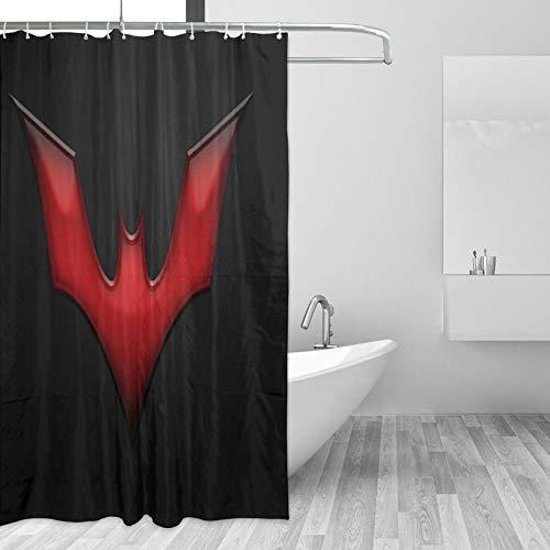 Why So Serious Joker Batman Duschvorhang, hochwertiger Polyester-Stoff, wasserdicht, Duschvorhang für Hotel, Badezimmer, Duschen & Badewannen, 167,6 x 182,9 cm