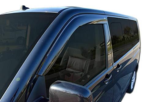 SCOUTT Klebende Windabweiser Transporter Caravelle T5 T6 ab 2003 2tlg dunkel