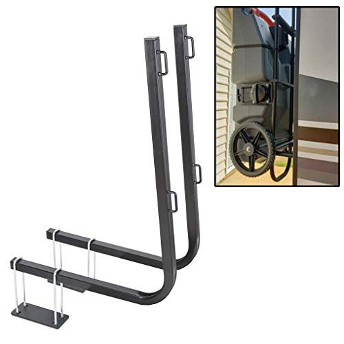 JMTAAT New RV Bumper Mount Tote Tank Carrier Secure Tank in Place Fits Camco Rhino