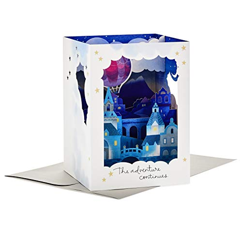 Hallmark Paper Wonder Displayable Pop Up Anniversary Card (Adventure Continues)
