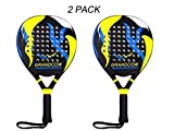 Padel Tennis Racket Racquet Carbon Fiber Power Lite Pop EVA Foam POP Tennis Paddle Paddleball Racket...