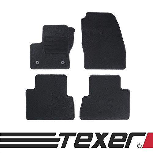 TEXER Textil Fußmatten Passend für Ford C-Max II Bj. 2010-2012 Basic