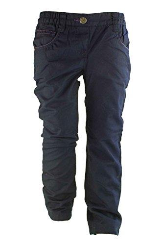 Lupilu® Klein Kinder Mädchen Thermohose - Gerades Bein, bequemer Gummizugbund, 5-Pocket-Style Dunkelblau 86