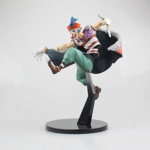 MNZBZ Anime Figures 15-22cm Einteiler Franky Eustass Kid Buggy Brook Ruffy Actionfigur Spielzeugpuppe Box-Clown