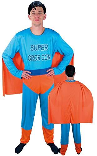P'tit Clown - 99605 - Costume Adulte Super Gros Con - Taille Unique
