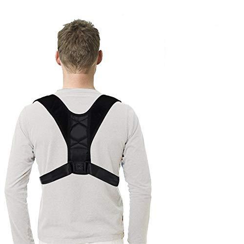 Geradehalter,Schulter Orthese,Haltungskorrektur, verstellbar, Nierengurt, Rückenstütze für Männer und Frauen