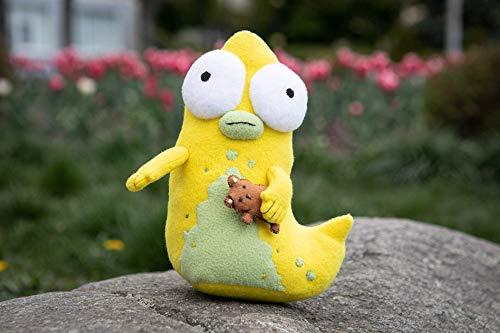 Solar Opposites Pupa inspired - handmade Pupa plush, soft toy 9 in