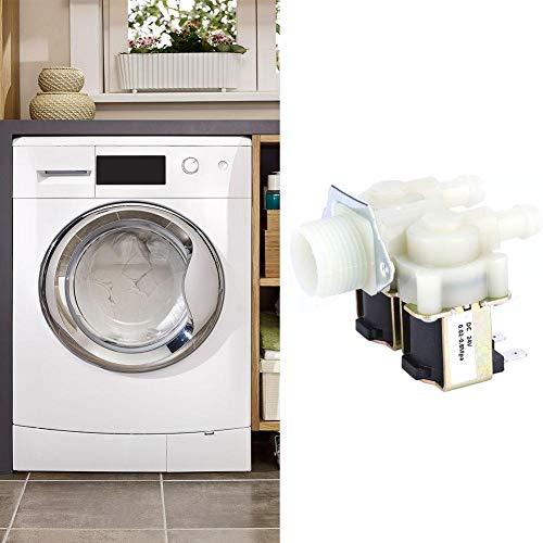 Magneetventiel watertoevoer, G3 / 4 NC Elektrisch magneetventiel Normaal gesloten Schakelaar watertoevoer Elektromagnetische klep voor wasmachine (DC24V)