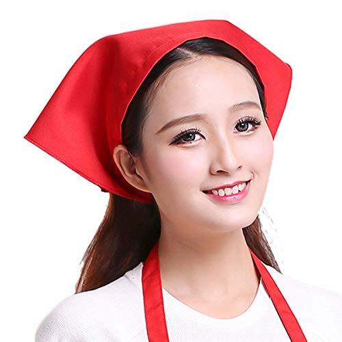 Planuuik Japanse stijl dames heren driehoek hoofddoek handdoek keuken restaurant chef-hoed