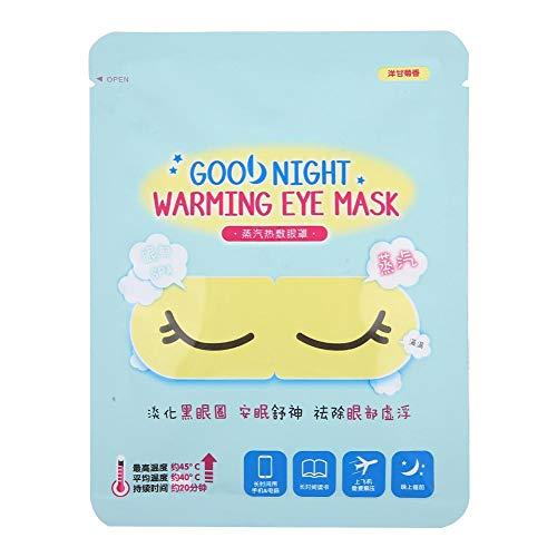 Máscara de vapor para ojos, conveniente y cómodo parche de 7 piezas, calmar, mejorar el sueño, desvanecer las bolsas para los ojos para desvanecer los ojos del(A3509 Chamomile)