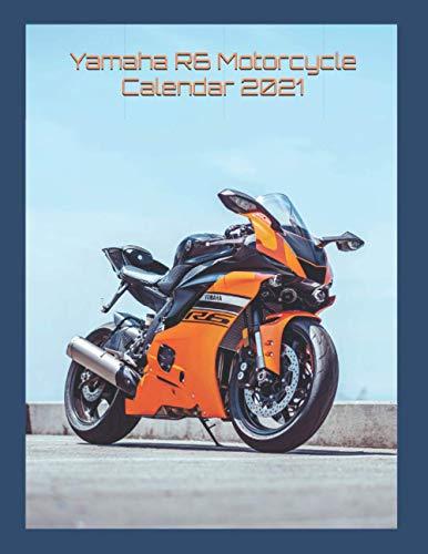 Yamaha R6 Motorcycle Calendar 2021