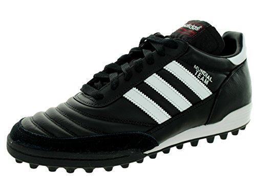 adidas Herren Mundial Team Boots Fussballschuh, schwarz/weiß, 40 2/3 EU
