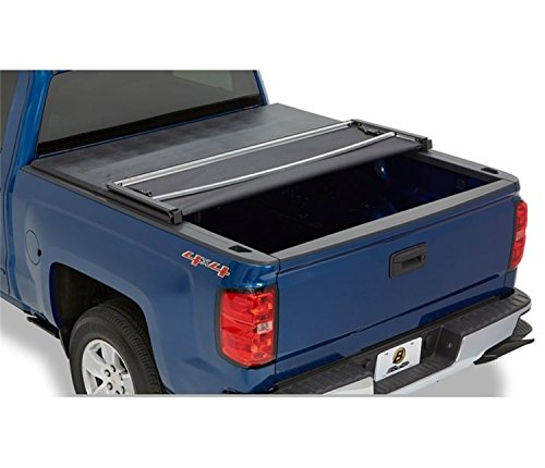 Bestop 1618201 EZFold Soft Tonneau Cover for 2007-2018 Toyota Tundra (W/Or W/O Deck Rails) - 5.5 Ft...