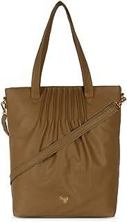 Baggit Women's Synthetic Tote Bag (Yellow) (L Wrapo)