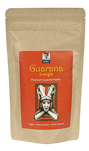 BADERs Guarana Energie Premium-Pulver (200g). Das Geheimnis der Inka. Immer dann, wenn's drauf ankommt. 100 % naturrein, vegan. PZN 11642977