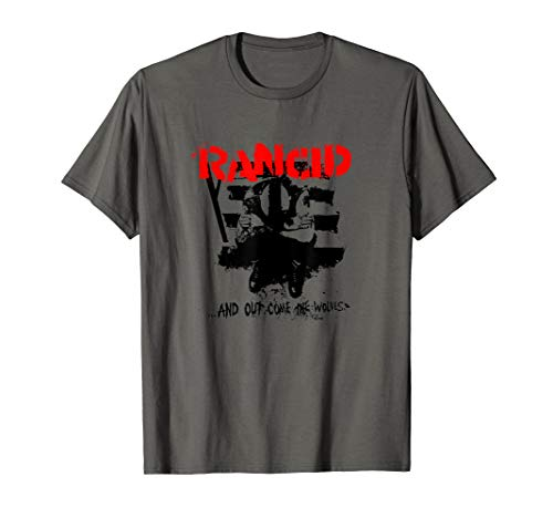 Rancid- And Out Comes The Wolves Tee Official Merchandise
