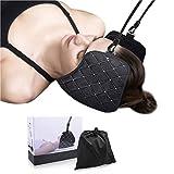 amaca per collo, trazione cervicale portatile per sollievo del dolore al collo per relax e fisioterapia a casa, in ufficio - nv29