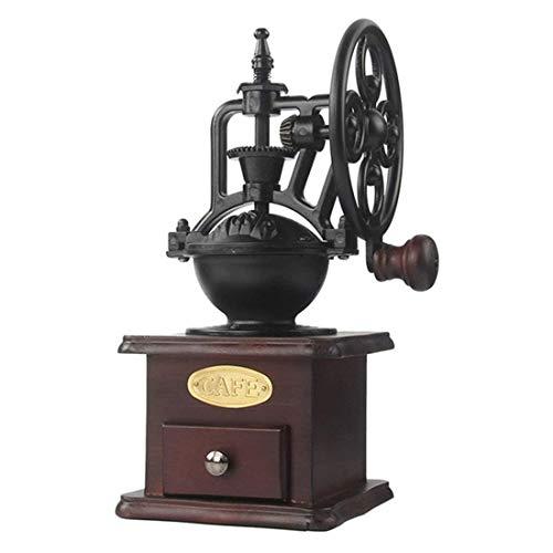 Kaffeebohnenmühle, Riesenradmühle, Home Massivholz Handkurbel Großes Schwungrad Kaffeemühle Keramikkern Abnehmbar Und Waschbar (Ferris Wheel)