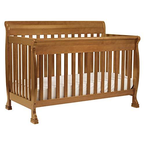 DaVinci Kalani 4-in-1 Convertible Crib in Chestnut, Greenguard Gold Certified
