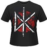 Dead Kennedys: Distressed Dk Logo (T-Shirt Unisex Tg. M)