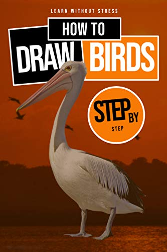 Learn Without Stress How To Step By Step Draw Birds (English Edition)