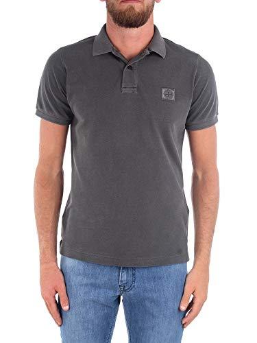 Stone Island Luxury Fashion Herren 721522S67V0065 Grau Baumwolle Poloshirt | Frühling Sommer 20