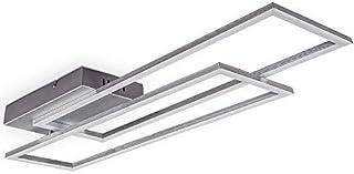 B.K.Licht 40 Watt LED lámpara de techo I montaje giratorio I temperatura de color infinitamente variable I función de luz ...
