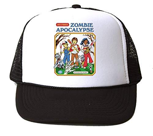 NoMoreFamous My First Zombie Apocalypse Baseball Cap Unisex Mütze Kappe Hat One Size