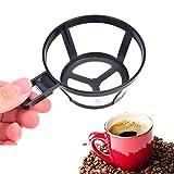 Coffite de café Reutilizable Soporte de Filtro de gotero Cesta de Malla con...